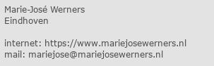 marie jose werners